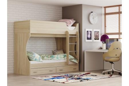 Кровать двухъярусная Олмеко Д 2