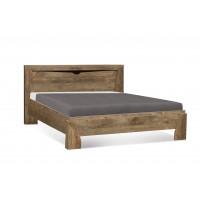 Кровать Олмеко Лучия 33.09-02 с ортопедическим основанием кейптаун-венге